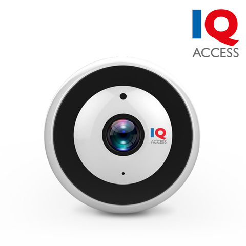 IQACCESS - Wi-Fi 360° Panoramic Smart Camera, 2MP (1080P), Google & Alexa Support, microSD card slot<br><small>Model: IQ360</small>