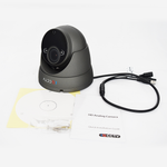 IQCCTV - 2MP 4in1 HD/Analogue Varifocal Vandal Eyeball/Turret Dome Camera, 2.8-12mm, 60m IR, IP66, Grey - Clearance<br><small>Model: IQC1080VV-G</small>