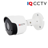 IQCCTV - 5MP 4in1 HD/Analogue Bullet Camera, Starlight, 3.6mm, 30m IR, IP66, White - 1 Year Warranty<br><small>Model: IQC5000B-W-2</small>