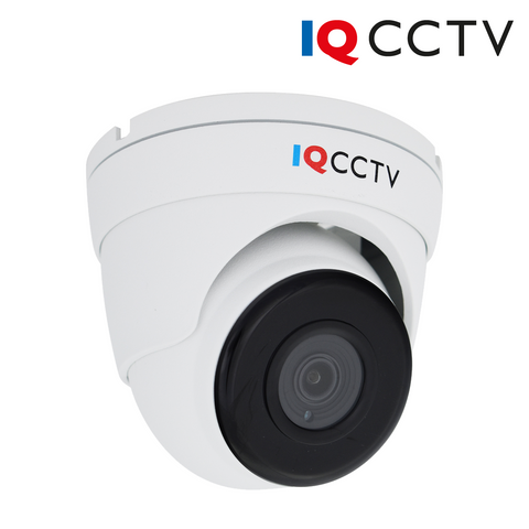 IQCCTV - 5MP 4in1 HD/Analogue Vandal Eyeball/Turret Dome Camera, Starlight, 3.6mm, 40m IR, IP66, White - 1 Year Warranty<br><small>Model: IQC5000V-W-2</small>