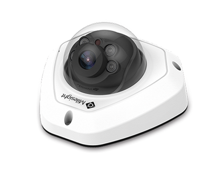 Milesight HD-IP 8MP (4K) IR Vandalproof Mini Dome<br><small>Model: MS-C8173-PB</small>