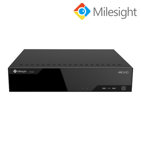 MILESIGHT - 8MP (4K) 64 Channel NVR, H265+, Video Analytics Ready<br><small>Model: MS-N8064-UH</small>