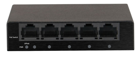 4 Port PoE Switch 10/100Mbps<br>(Model: PS-100POE4)