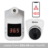 SENTRY IR - Automatic Contactless Infrared Temperature Detector with CCTV Recording and App notifications