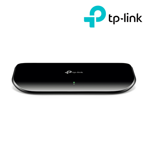 TP-LINK - 8-Port Gigabit Desktop Network Switch<br><small>Model: TL-SG1008D</small>