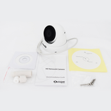 Xvision 2MP IP Starlight Vandal Dome Camera<br><small>Model: X4C2000V-W</small>