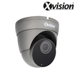 XVISION - 5MP AI IP Motorised Vandal Eyeball/Turret Dome Camera, H265, Starlight, 120dB WDR, 2.8-12mm, 60m IR, Audio In/Out, Alarm In/Out, microSD slot, IP66, Grey<br><small>Model: X5C5000VM-G</small>