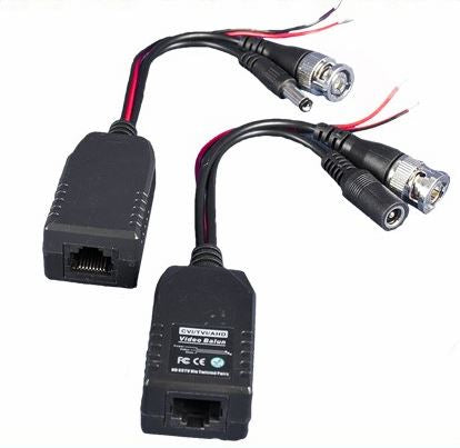 HD CAT5 Video /Power Balun (Pair)<br>(Model: XC5VP-AHD)