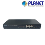 PLANET - 8-Port Gigabit Managed PoE+ Switch<br><small>Model: XIPPOESW-8-M-2</small>