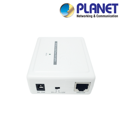 PLANET - Single Port High Power 5/12V DC PoE Splitter<br><small>Model: XIPPOESW-HP</small>