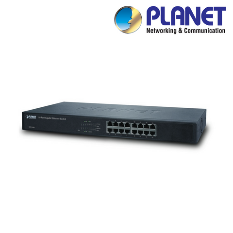PLANET - 16-Port Gigabit Managed Network Switch<br><small>Model: XNS16-M</small>