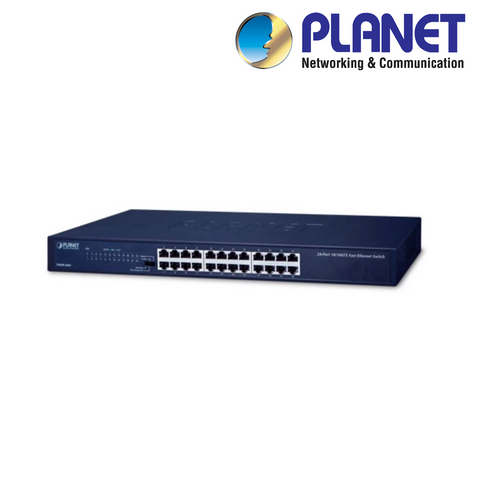 PLANET - 24 Port 10/100Mbps Network Switch<br><small>Model: XNS24</small>
