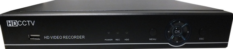 720P AHD 8 Channel DVR<br>(Model: OAHD-D8)