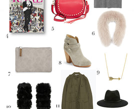 ACTRESS, MOLLY SIM'S HOLIDAY GIFT GUIDE