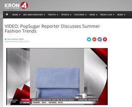 POPSUGAR REPORT ON KRON 4 NEWS