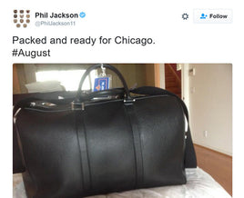 PHIL JACKSON TWEETS ABOUT AUGUST