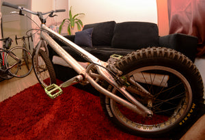 "Bicicleta completa Breath YES 20"" usada"
