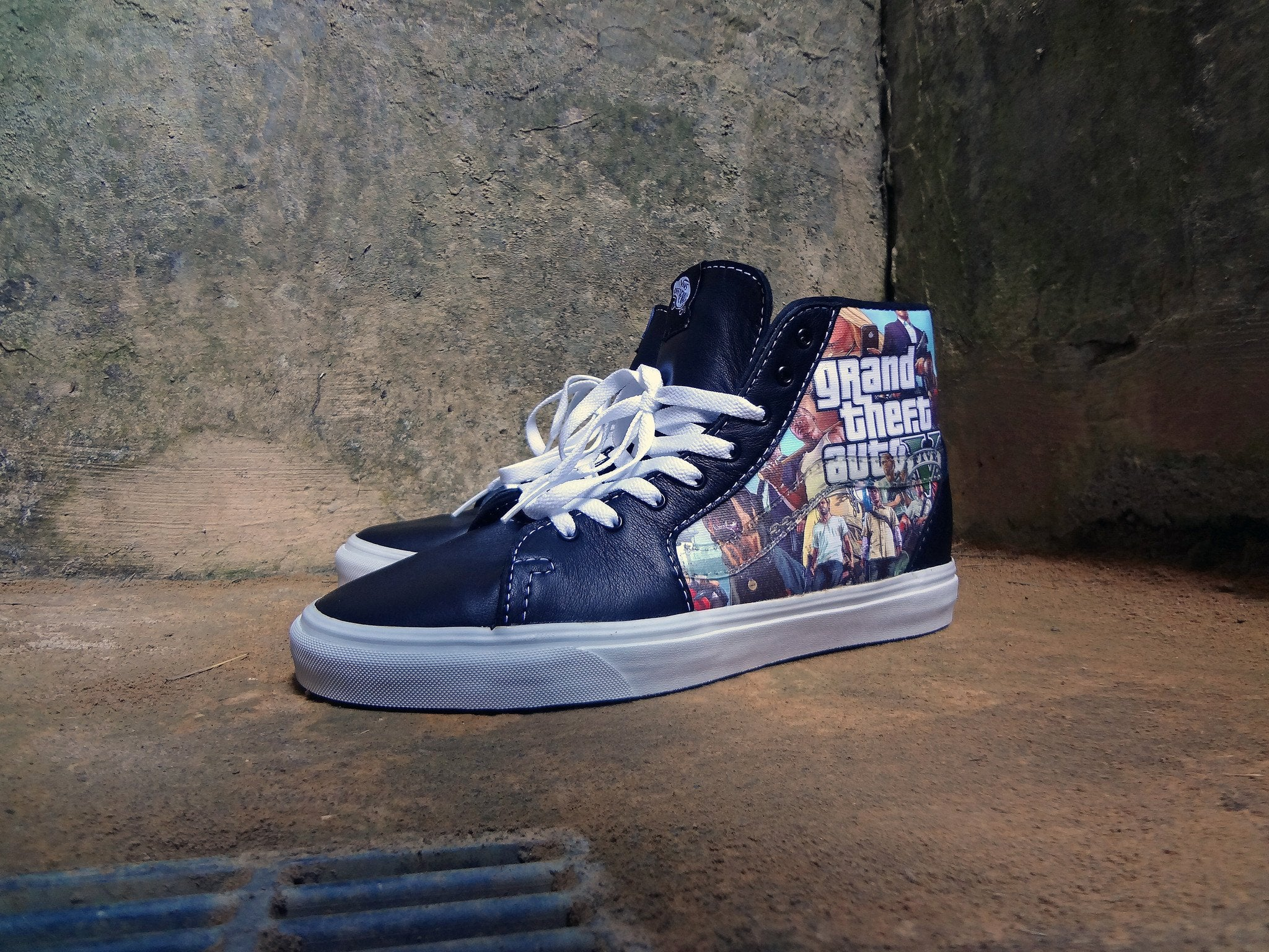 GTA V Vans Sk8 Hi - SOLD OUT