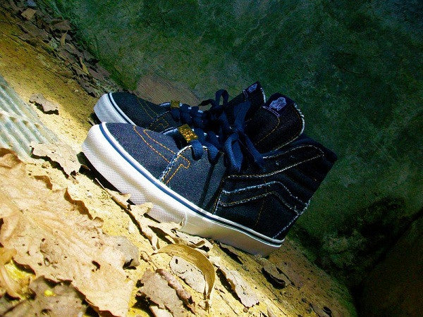 Fully Laced Selvedge Denim (Indigo) Vans Sk8-Hi