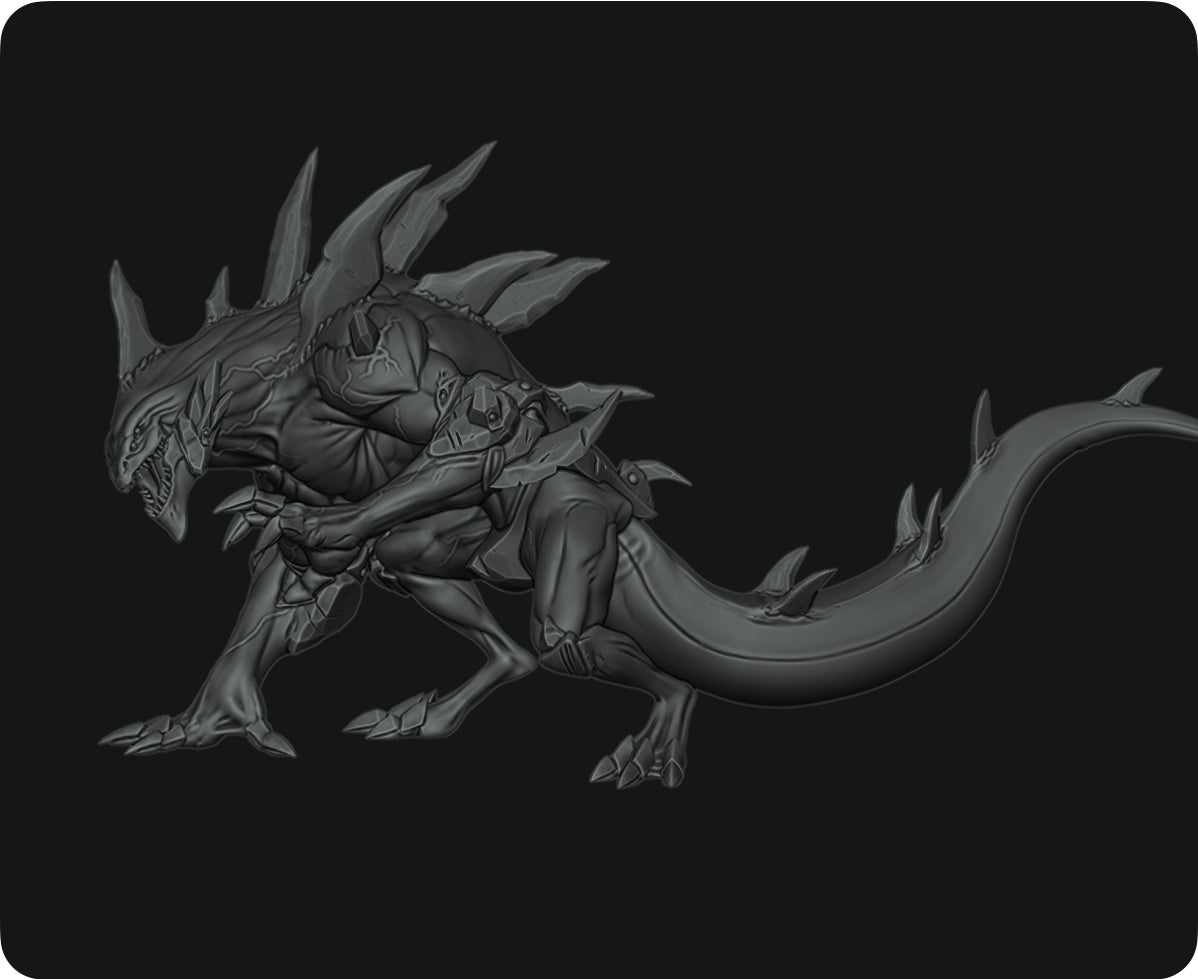 Dragon Kin (Pose 1)