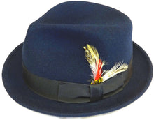 Pinched Crown Fedora
