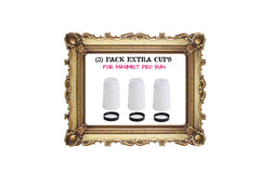 PACK OF (3) 8oz CUPS W/LIDS for PRO GUN