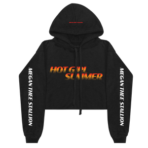 Hot Girl Summer Gradient Crop Hoodie