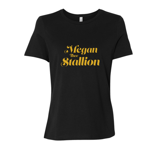 Megan Thee Stallion Logo Tee (Fitted)