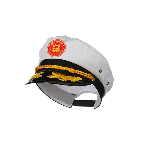 Drive Thee Boat Captain's Hat