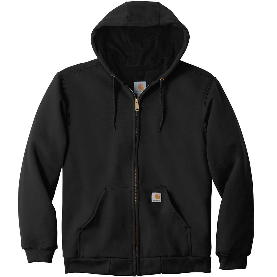Carhartt: Carhartt Rain Defender Rutland Thermal-Lined Hooded Zip-Front Sweatshirt