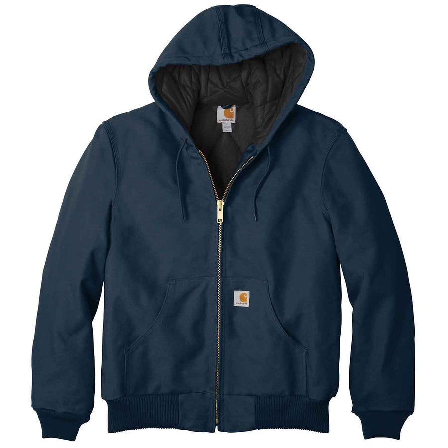 Carhartt: Quilted-Flannel-Lined Duck Active Jacket