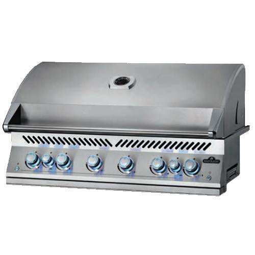 "Napoleon Built-in 700 Series 44"" With Dual Infrared Rear Burner, Stainless Steel"