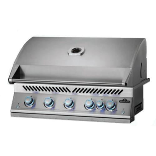 "Napoleon Built-in 700 Series 38"" With Infrared Rear Burner, Stainless Steel BIG38RBSS"