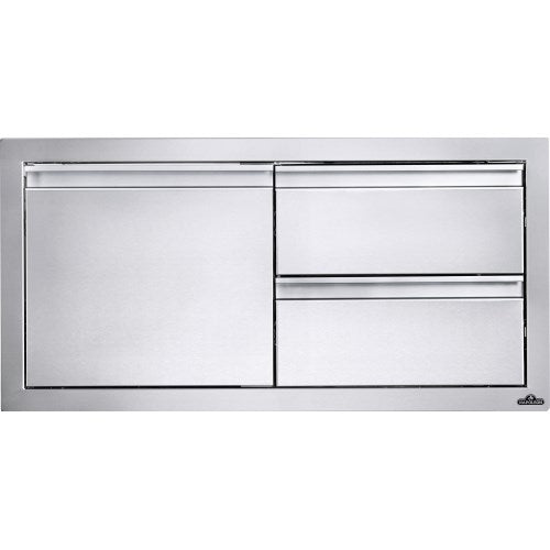 "Napoleon Built-In 36""X 16"" Single Door & Double Drawer Combo BI-3616-1D2DR"