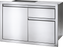 "Napoleon Built-In 36"" X 24"" Single Door & Standard Drawer BI-3624-1D2DR"