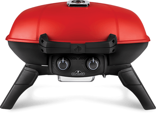 Napoleon TravelQ 285 (RED) Portable Propane Gas Grill with Griddle TQ285-RD-1-A