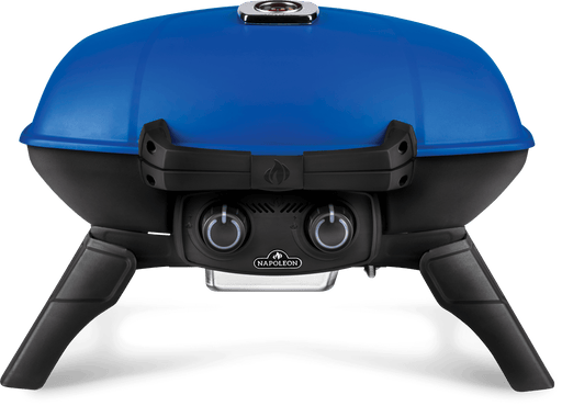 TravelQ™ 285 Portable Propane Gas Grill, Blue