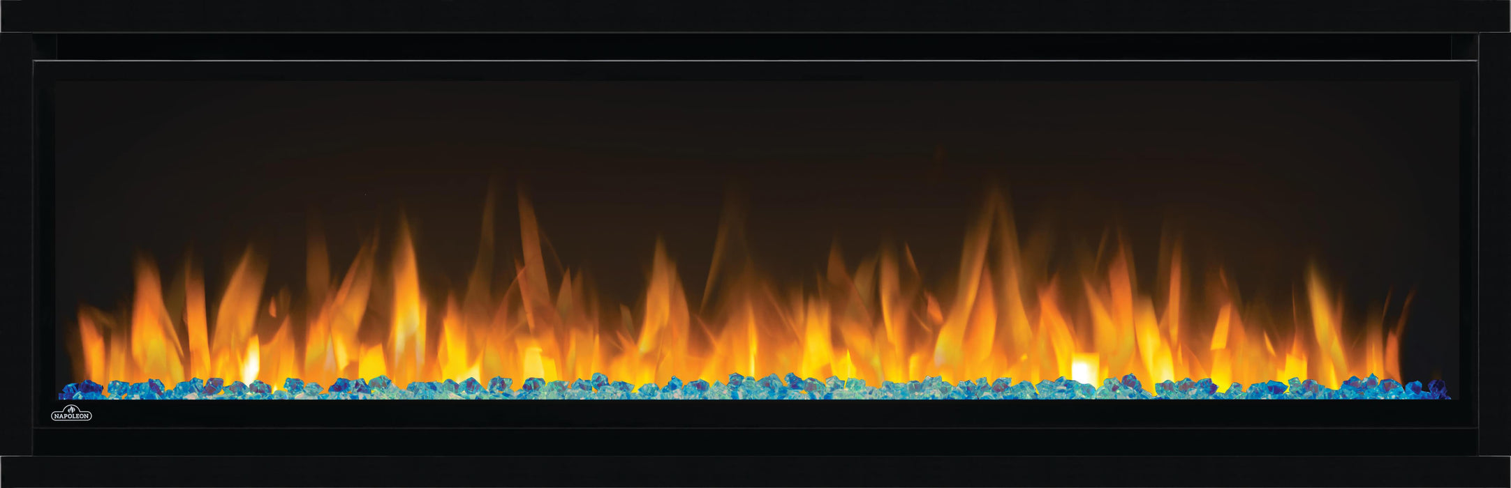 Napoleon Alluravision 50-In Slim Wall Mount Electric Fireplace NEFL50CHS