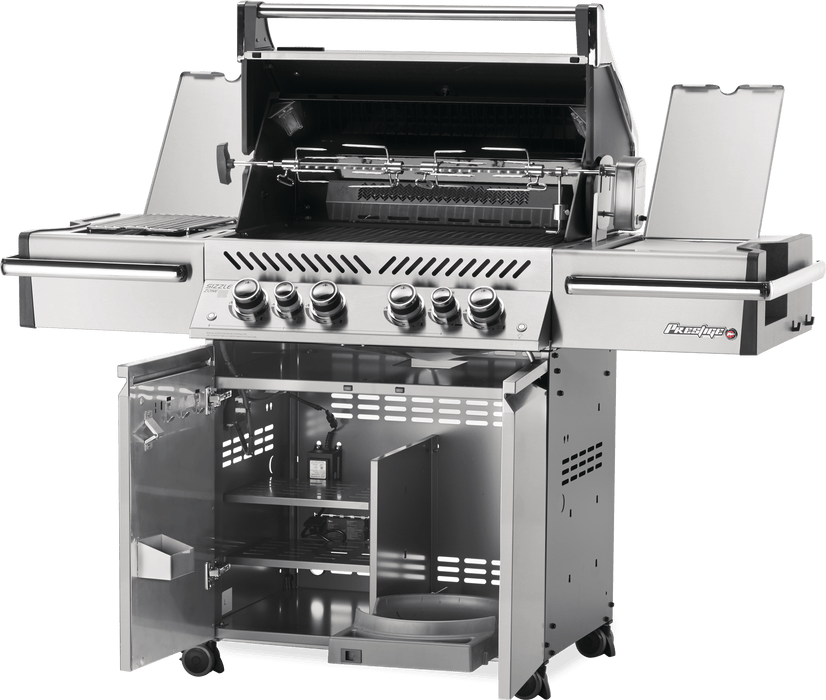 Napoleon Prestige PRO 500 Gas Grill with Infrared Rear & Side Burners PRO500RSIB-3