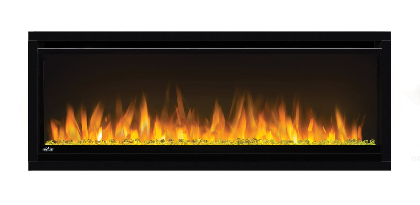 Napoleon Alluravision 42-In Slim Wall Mount Electric Fireplace NEFL42CHS