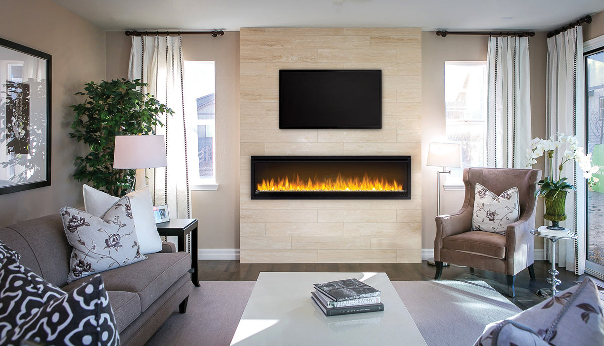 Napoleon Alluravision 60-In Slim Wall Mount Electric Fireplace NEFL60CHS