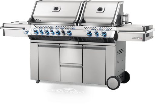 Napoleon Prestige PRO 825 Gas Grill with Power Side Burner, Infrared Rear & Bottom Burners