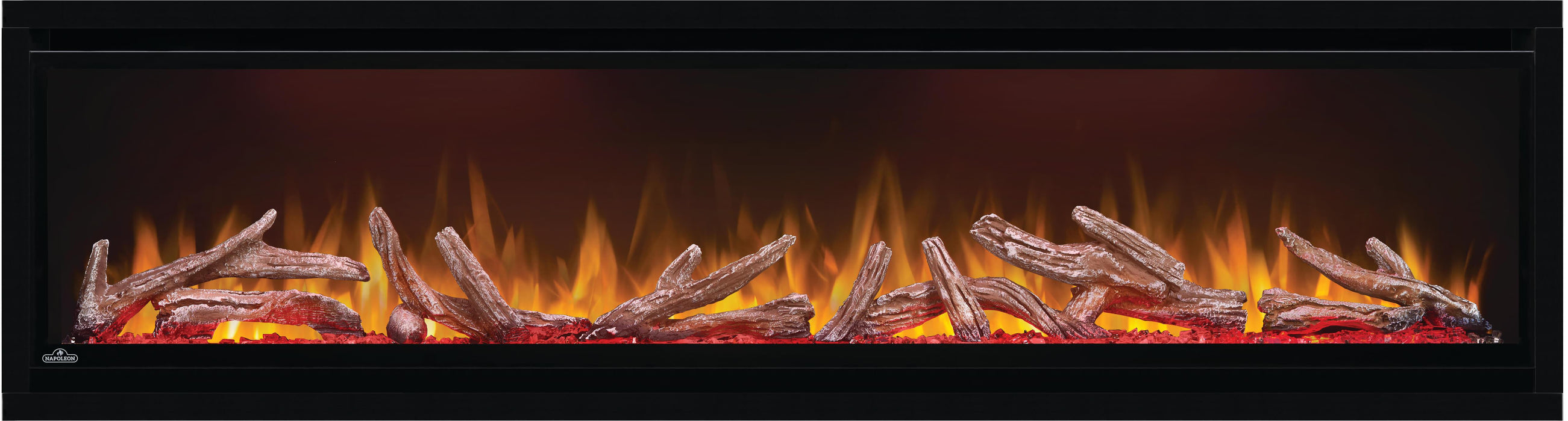Napoleon Alluravision 60-In Deep Depth Wall Mount Electric Fireplace NEFL60CHD