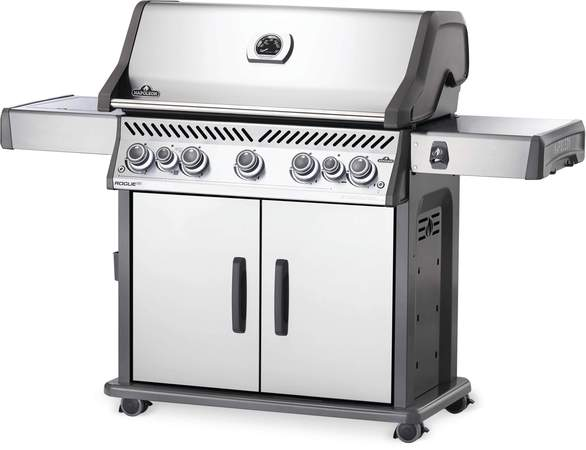 Napoleon Rogue SE 625 Gas Grill w/Infrared and Rear Burner (Stainless Steel) RSE625RSIBSS-1