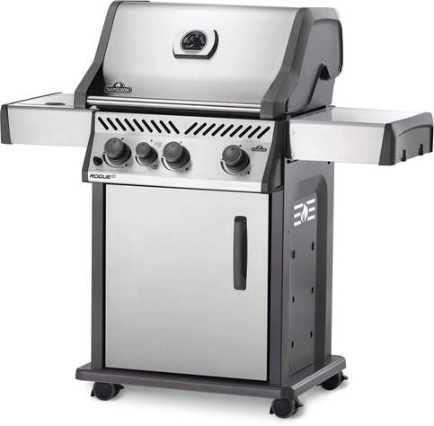 Napoleon Rogue XT 425-1 Gas Grill (Stainless Steel) w/Side Burner RXT425SIBSS-1