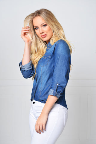 Not Your Average Denim Shirt - Fashion Effect Store  - 2