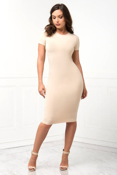 You Belong To Me Cream Dress - Fashion Effect Store  - 2