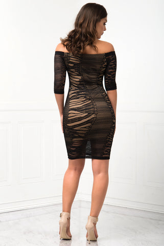 Keep It To Yourself Dress - Fashion Effect Store  - 2