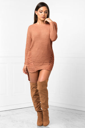 Always Warm Mauve Sweater - Fashion Effect Store  - 2