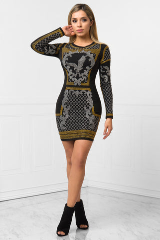 Amaya Black Dress - Fashion Effect Store  - 1